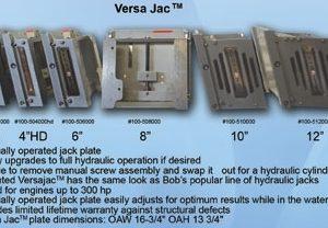 Setback Versa Series Jack Plate