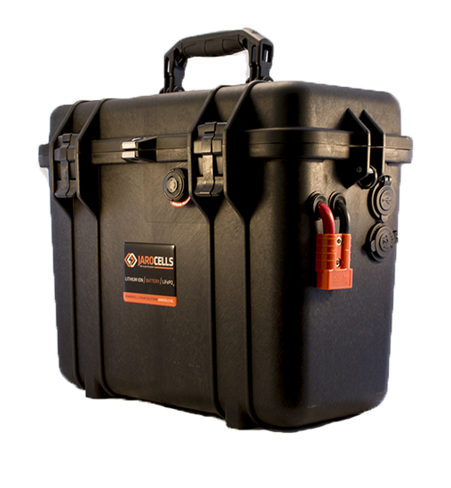 Batteria LITIO Li Fe Po4 100A 12V PORTATILE top loader black
