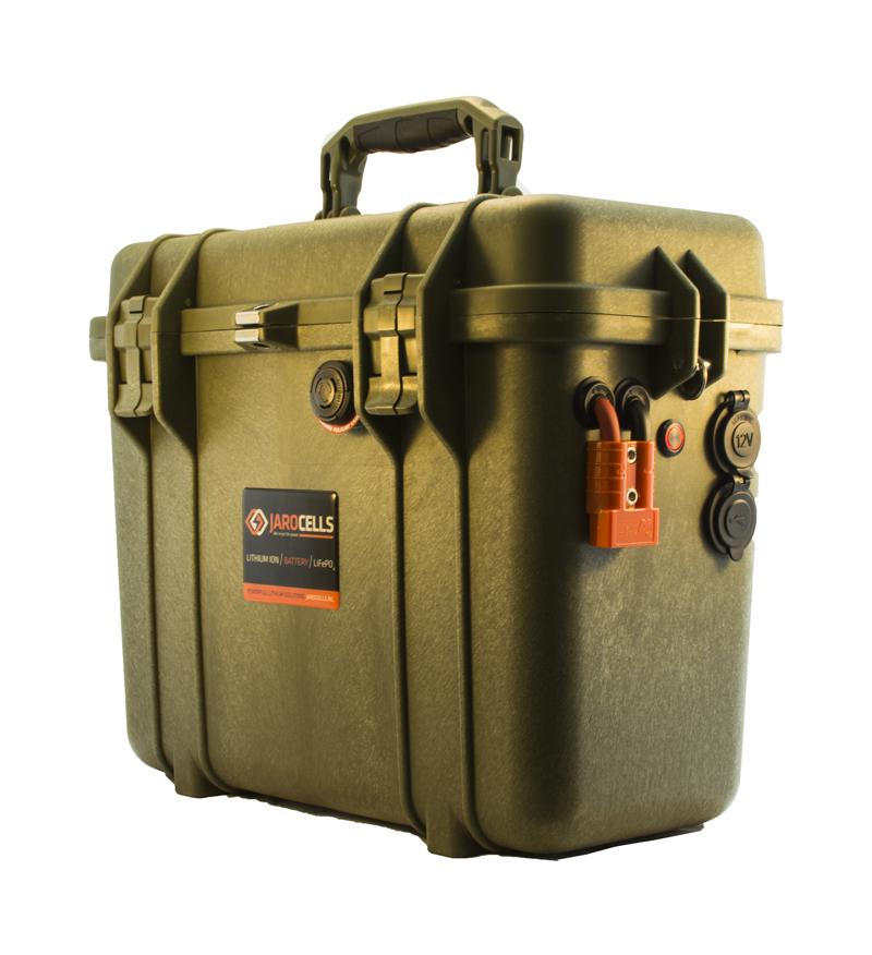 Batteria LITIO Li Fe Po4 75A 12V PORTATILE top loader color